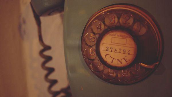 Retro Wall Telephone photo
