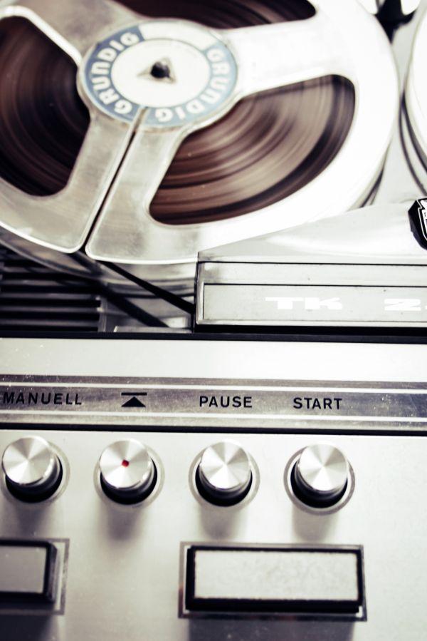 Retro Audio Reel Grundig photo