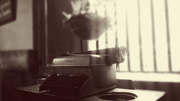 Remington Typewriter Desk photo