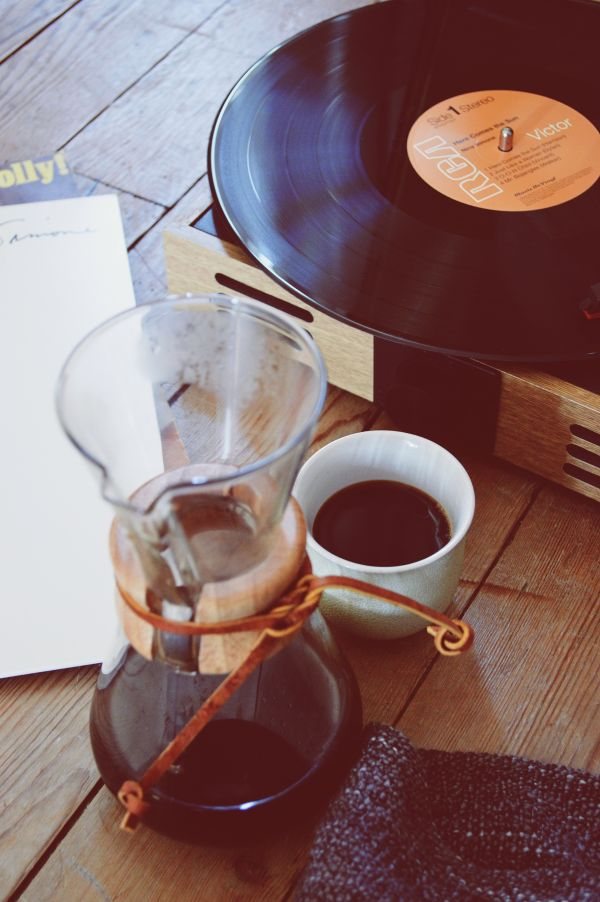 Vinyl Player Coffee photo