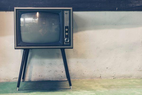 Retro Television Set photo