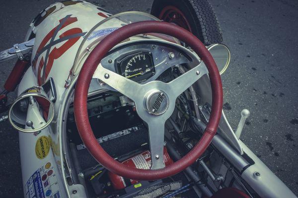 Racing Car Cockpit photo