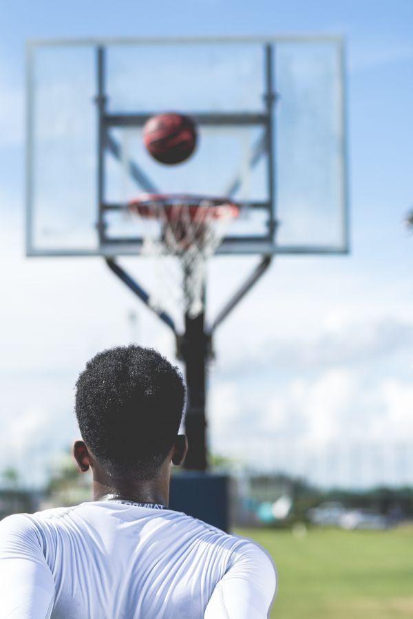 Man Basketball Court photo