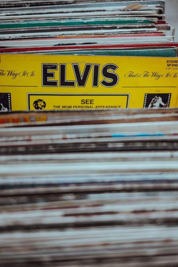 Elvis Vinyl photo