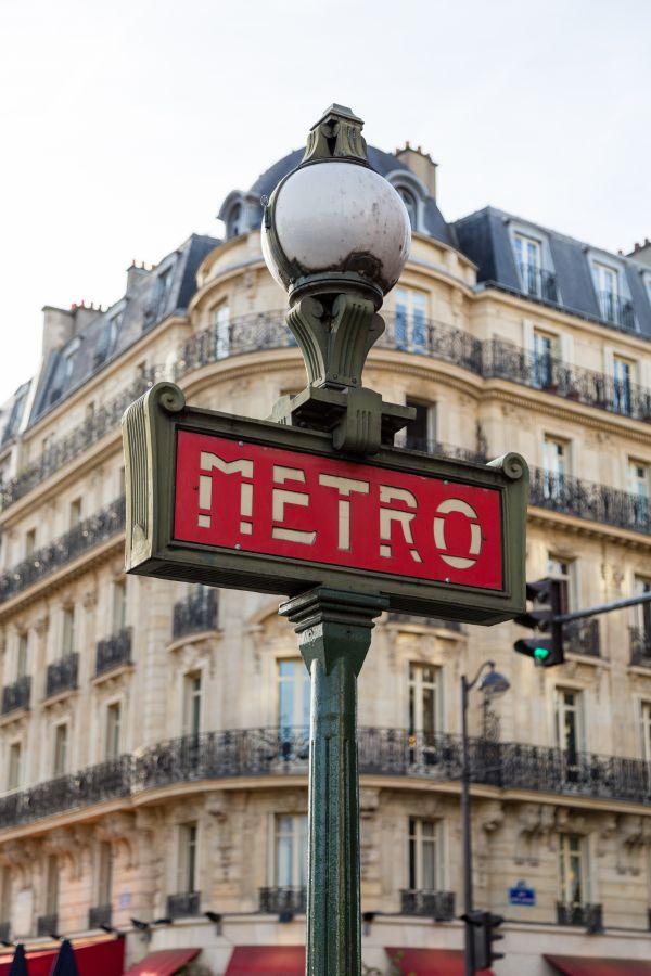 Metro Street Sign photo