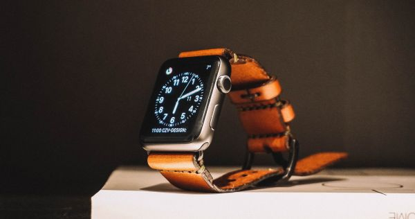 Apple Watch Leather Strap photo