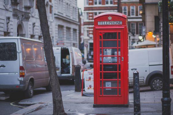 Red Telephone Box London Street photo