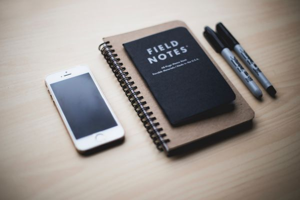 Field Notes iPhone Pens photo