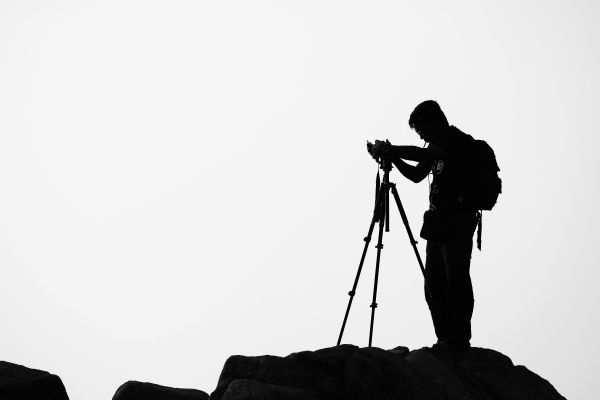 Silhouette Photographer photo