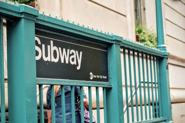 Subway Sign photo