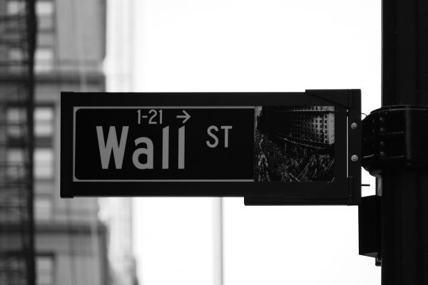 Wall Street Sign photo