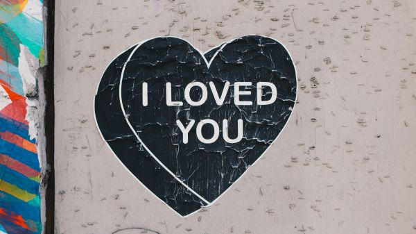 Loved You Sign Street photo