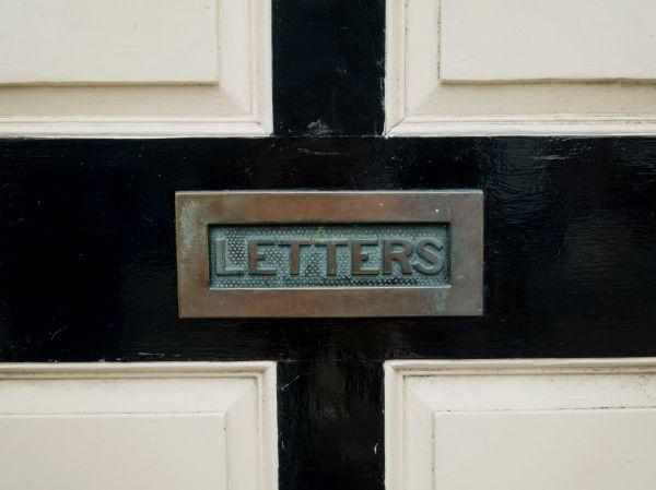 Rusty Letterbox Door photo