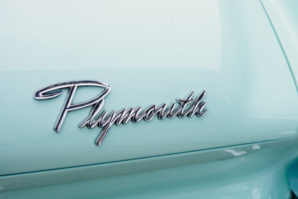 Plymouth Car Sign photo