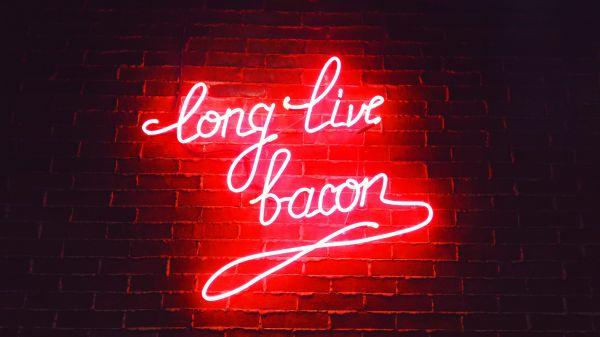 Long Live Bacon Neon Sign photo