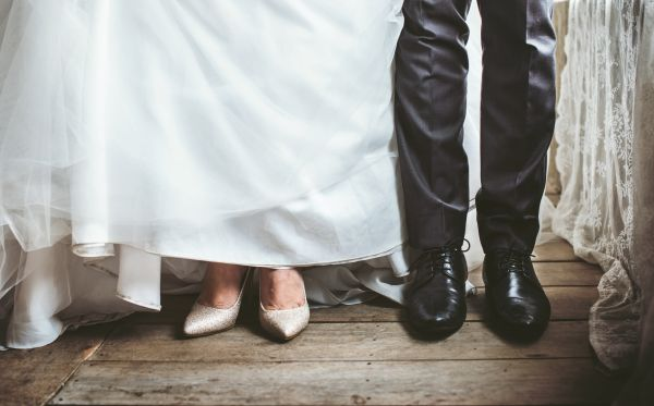 Man Woman Married photo