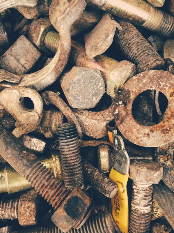 Rusty Nuts Bolts photo