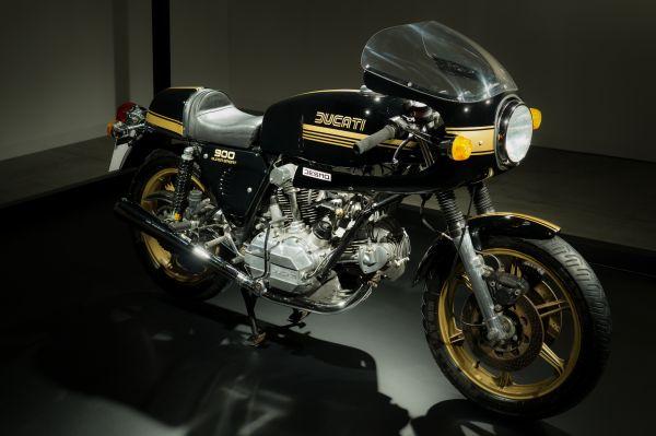 Classic Ducati Motorcycle photo