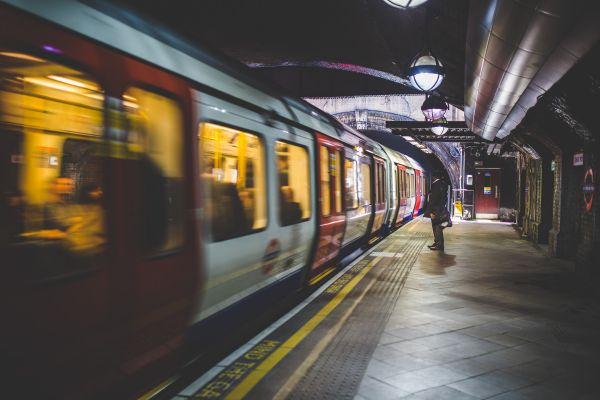 Underground Subway Train Station photo