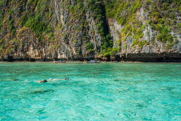 Snorkelling Clear Sea Water photo