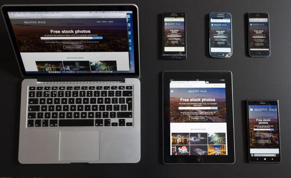 Mobile Device Laptop MacBook photo