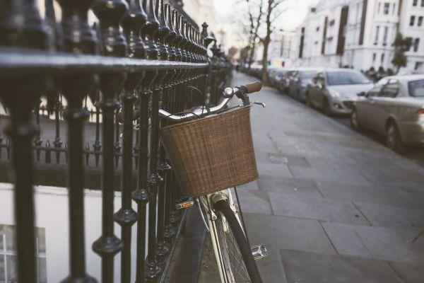 Classic Bike Street Woman photo