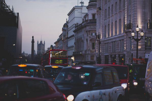 City Traffic Evening photo