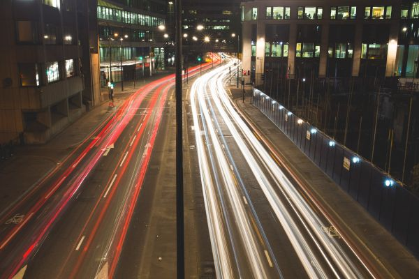 City Traffic Cars Lights photo