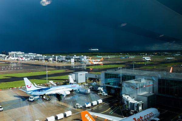 Airport Sun Storm photo