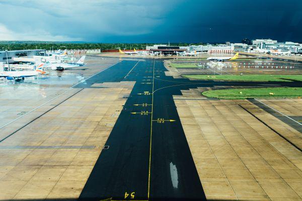 Airport Runway Plane photo