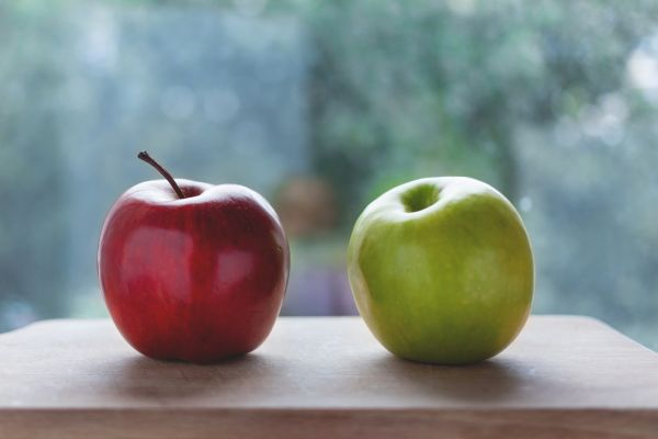Red and Green Apple photo