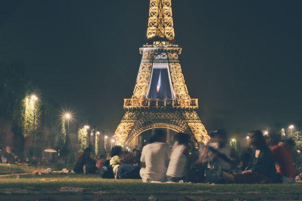 Eiffel Tower at Night photo