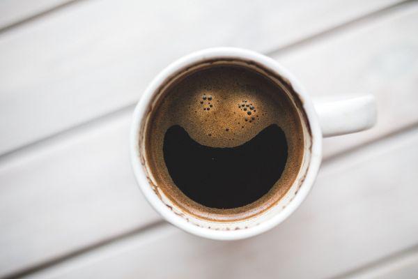 Mug of Happy Coffee photo
