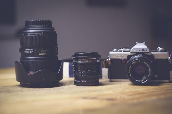 Minolta Camera and Lens Collection photo