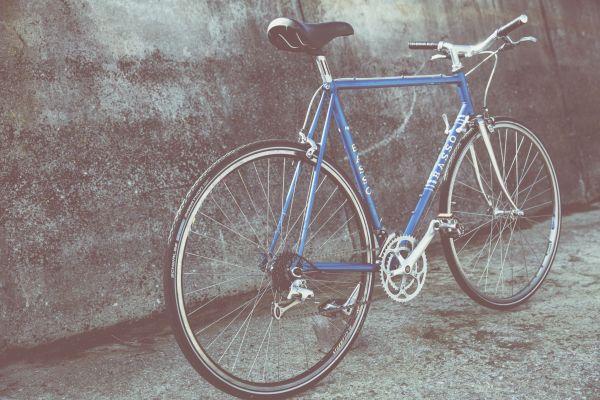 Classic Blue Bike photo