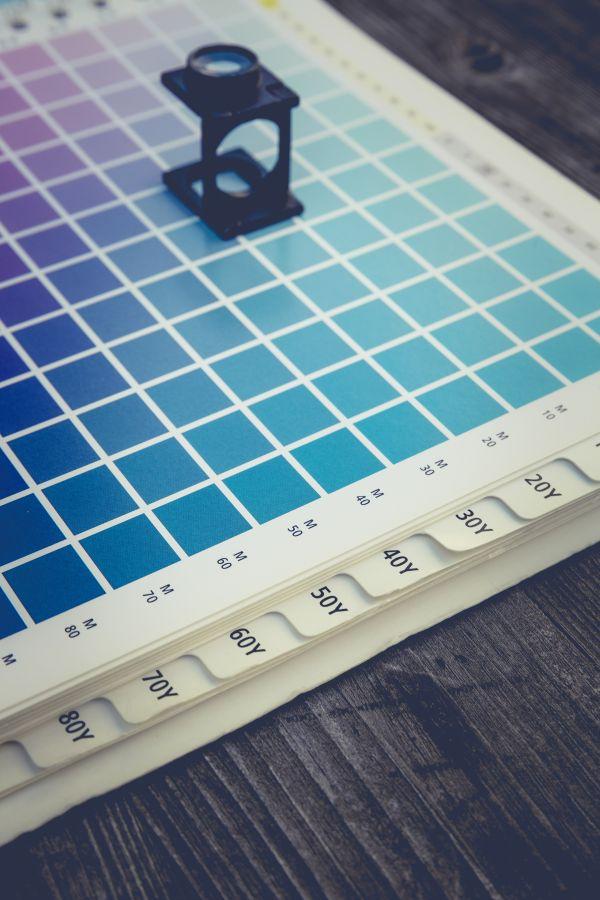 Choosing Colors for Print CMYK photo