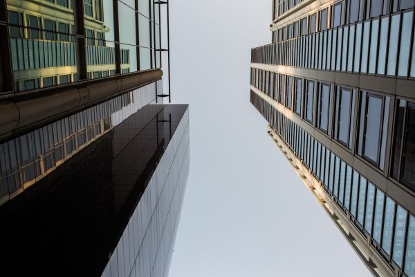 Glass Skyscrpaers photo