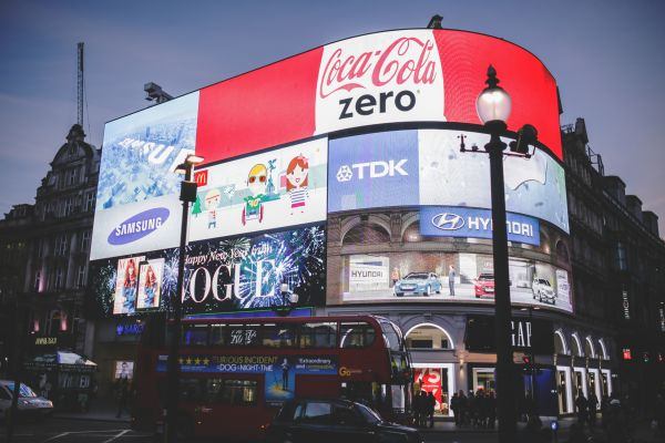 Piccadilly Circus in London photo