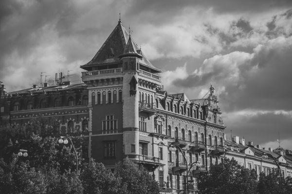 Clouds Over Prague Castle photo