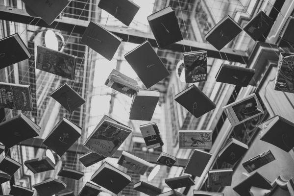 Books Sculpture Modern Art photo