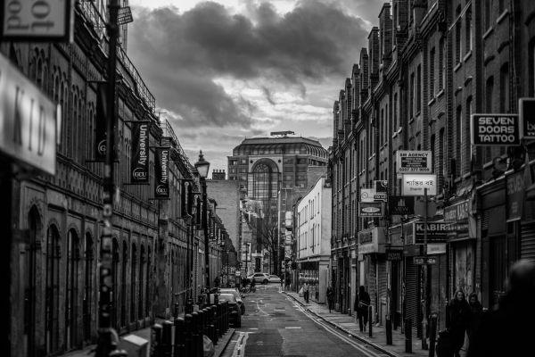 London Street in Black & White photo