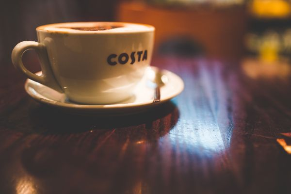 Cup of Cappuccino Coffee photo