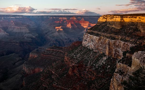 Grand Canyon National Park at Sunset photo