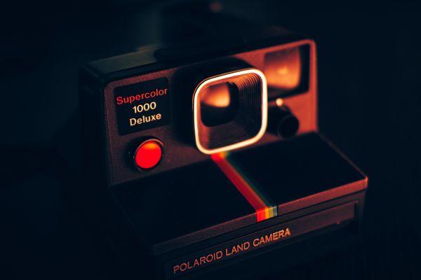 Retro Polaroid Camera photo