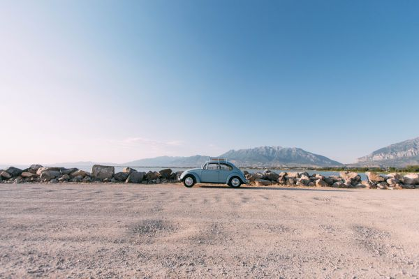 Volkswagen Beetle at the Beach photo