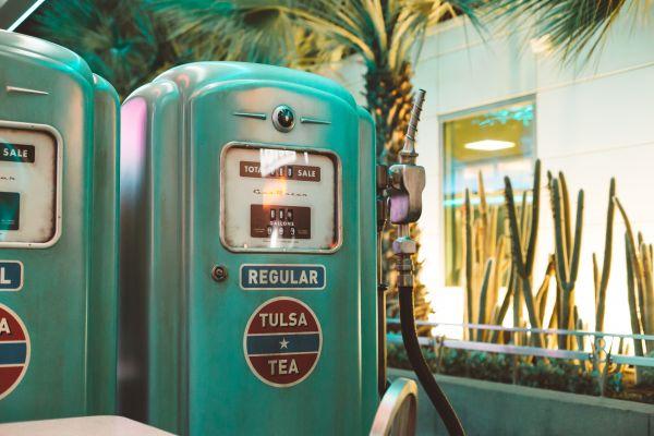 Vintage Gas Pump photo