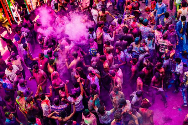 Colorful Croud photo