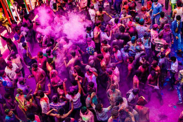 Colorful Croud photo