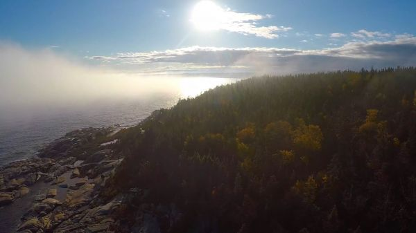 Fog on St-Lawrence Rive – Multicut video