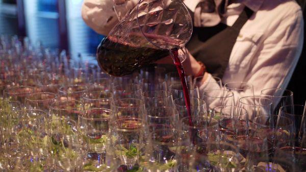 Party  christmas celebration  cocktails video
